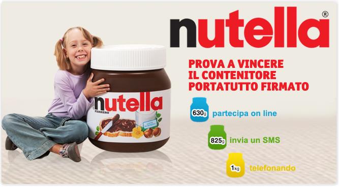 Vinci il contenitore portatutto NUTELLA®!