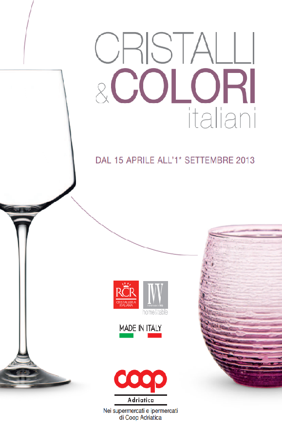 Raccolta Coop Coop Adriatica Cristalli & Colori Italiani
