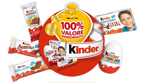 Acquista i Prodotti KINDER Riceverai Buoni Sconto
