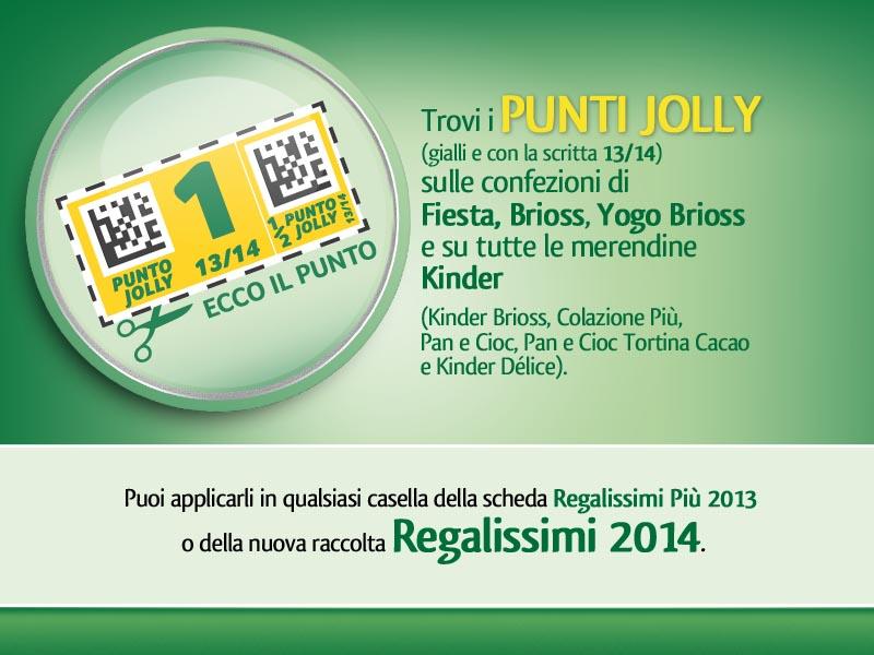 Raccolta Punti Regalissimi Ferrero 2013-2014