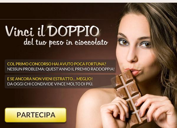Cioccolato Venchi Vinci il Doppio del Tuo Peso!