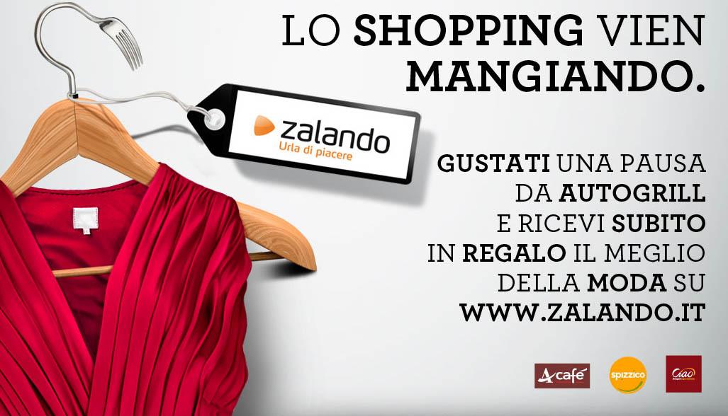 Lo Shopping Vien Mangiando: Autogrill Regala Zalando!