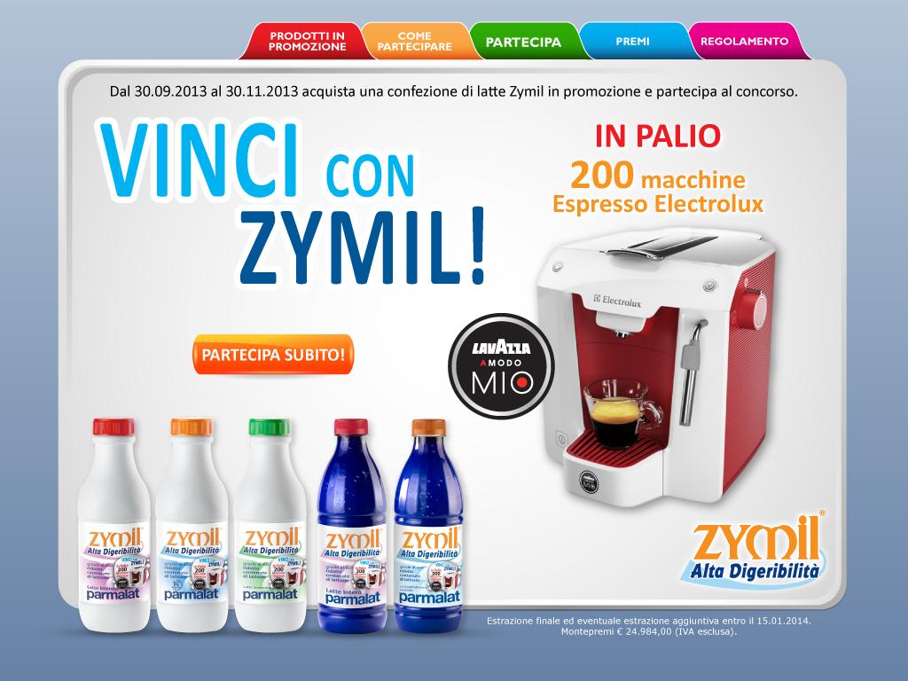 Vinci Lavazza con Zymil!!!