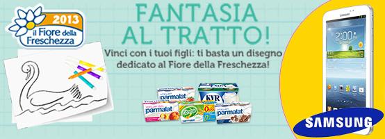 Parmalat concorso Promonews - Fantasia al Tratto