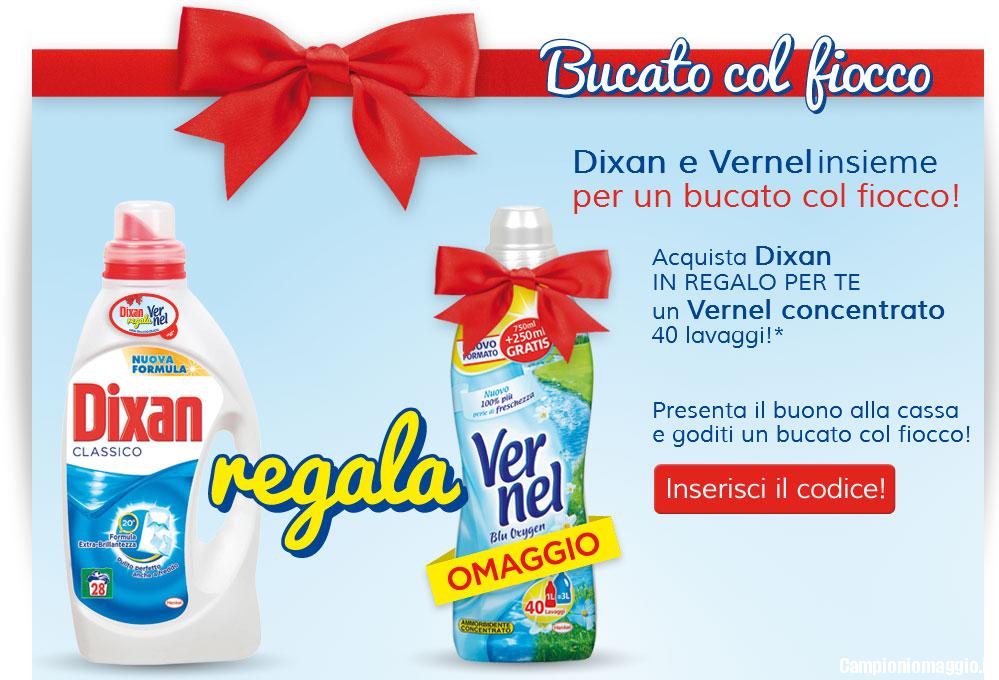 Acquista Dixan Liquido Classico in Omaggio Vernel