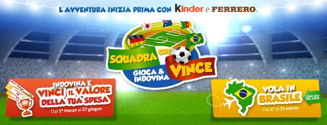 Kinder e Ferrero: Squadra che Vince