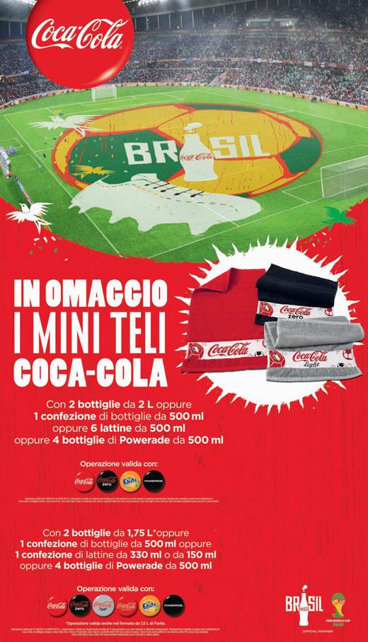 Coca-Cola ti regala un mini-telo mare!