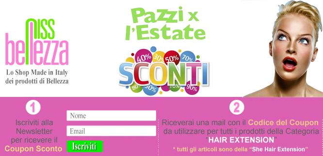 Coupon Sconto Hair Extension She