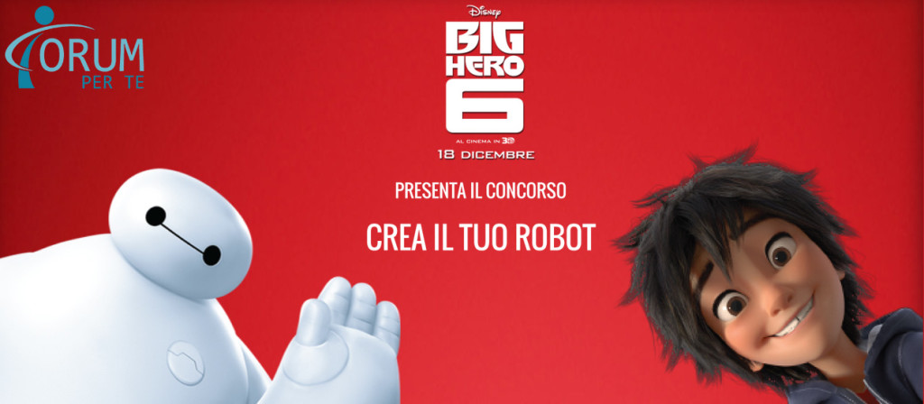 Walt Disney Big Hero 6 Crea il tuo Robot