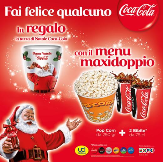 UCI ti regala la tazza natalizia Coca-Cola!