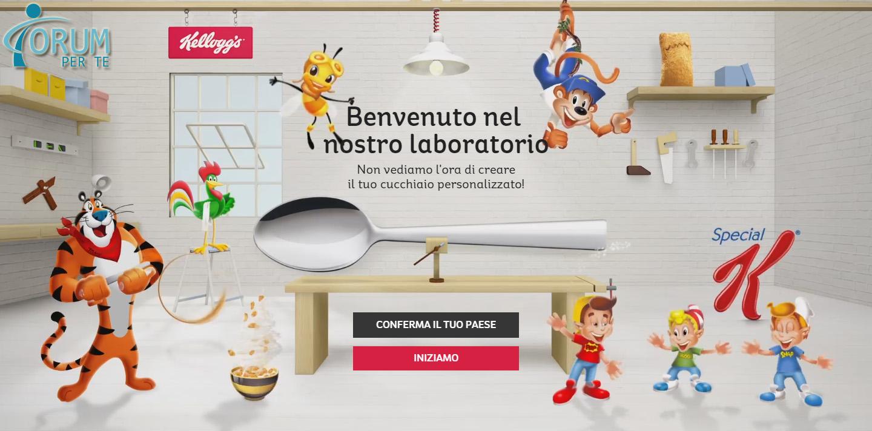 Kellogg's Regala Cucchiaino Personalizzato
