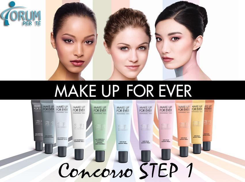 Make Up For Ever Concorso Step 1