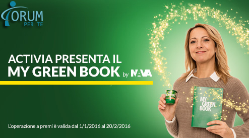 Activia ti Regala My Green Book