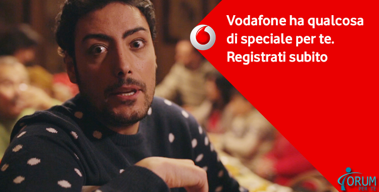 Da Vodafone una Sorpresa per Tutti