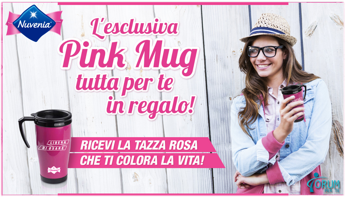 Nuvenia Pink Mug In Regalo