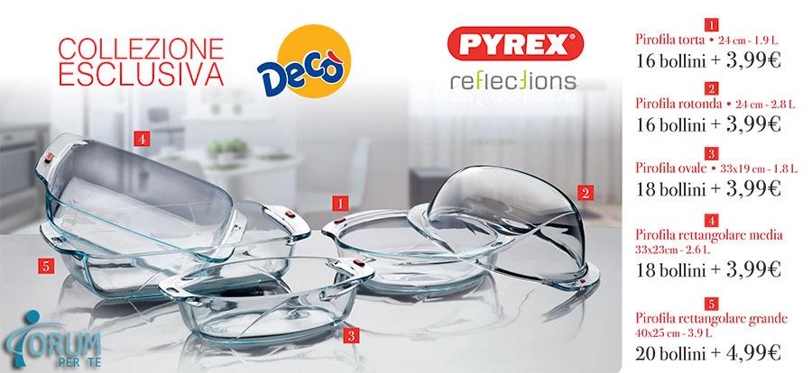 Collezione Esclusiva Decò Pyrex Reflection