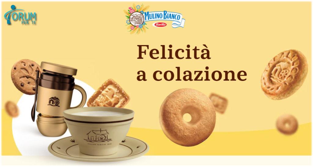 "Raccolta punti Mulino Bianco ""Felicità a colazione"""