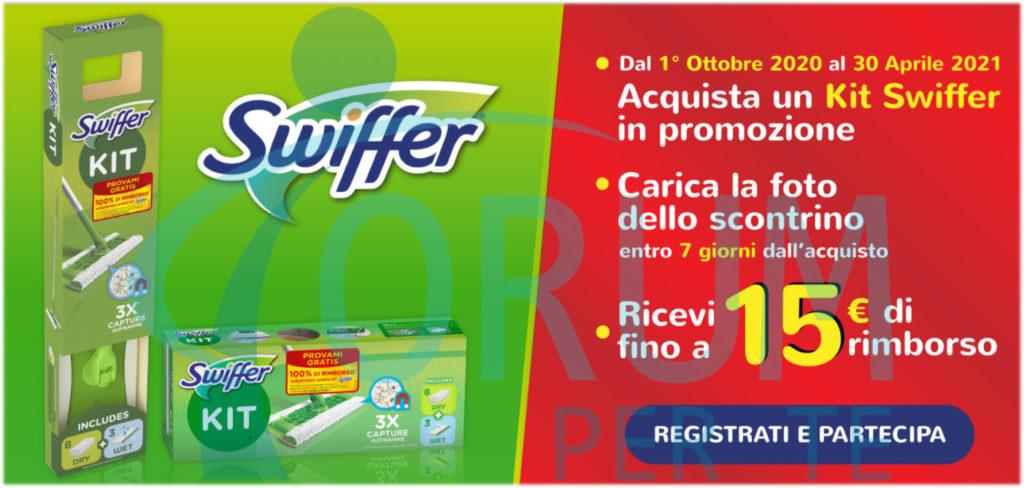 Prova gratis Swiffer